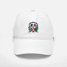 Dominican Republic Coat Of Arms Baseball Baseball Cap
