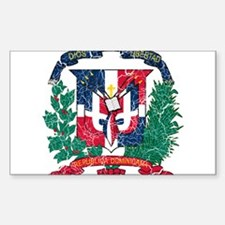 Dominican Republic Coat Of Arms Decal