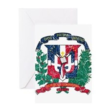 Dominican Republic Coat Of Arms Greeting Card