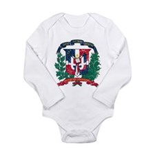 Dominican Republic Coat Of Arms Long Sleeve Infant