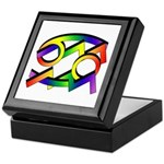 Aquarius & Cancer GLBT Keepsake Box