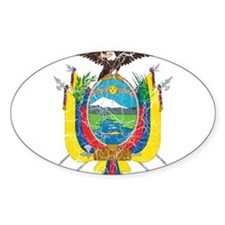 Ecuador Coat Of Arms Decal