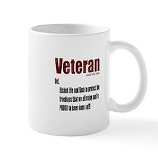 Veteran Definition Mug