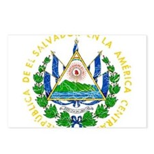 El Salvador Coat Of Arms Postcards (Package of 8)