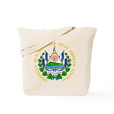 El Salvador Coat Of Arms Tote Bag