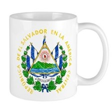 El Salvador Coat Of Arms Mug