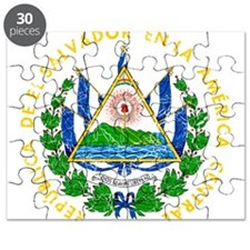 El Salvador Coat Of Arms Puzzle
