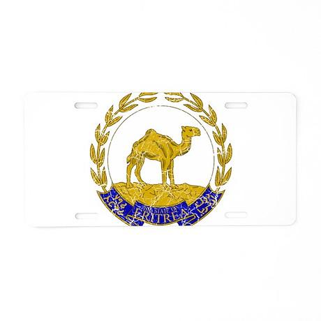 Eritrea Coat Of Arms Aluminum License Plate