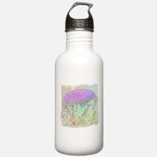 Artichoke Flower Water Bottle