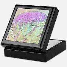 Artichoke Flower Keepsake Box