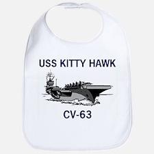 USS KITTY HAWK Bib