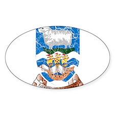 Falkland Islands Coat Of Arms Decal