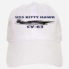 USS KITTY HAWK Baseball Baseball Cap