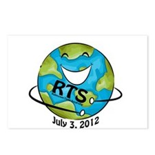 RTS Logo with Awareness Date Postcards (Package of