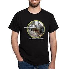 Downtown Los Angeles Union Station Black T-Shirt