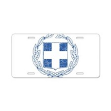 Greece Coat Of Arms Aluminum License Plate