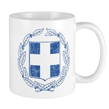 Greece Coat Of Arms Mug