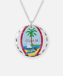 Guam Coat Of Arms Necklace
