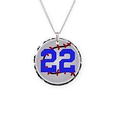 BB/SB Number Necklace