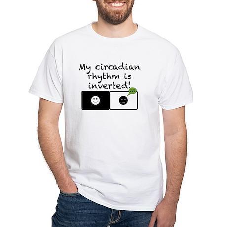 Circadian Rhythm White T-Shirt