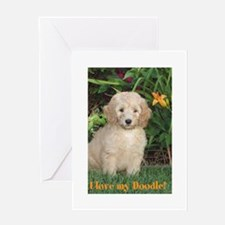 I love my Doodle! Greeting Card