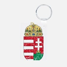 Hungary Coat Of Arms Aluminum Photo Keychain