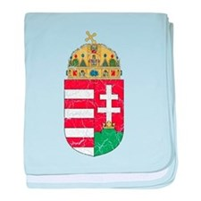 Hungary Coat Of Arms baby blanket