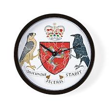 Isle of Man Coat Of Arms Wall Clock
