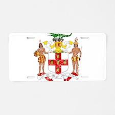 Jamaica Coat Of Arms Aluminum License Plate
