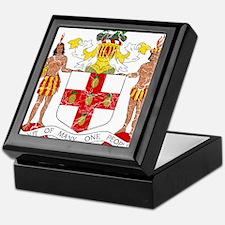 Jamaica Coat Of Arms Keepsake Box