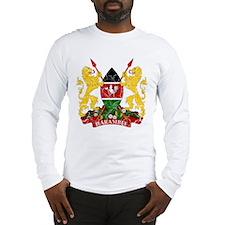 Kenya Coat Of Arms Long Sleeve T-Shirt
