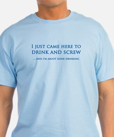 Drink And Screw T-Shirt