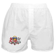 Latvia Coat Of Arms Boxer Shorts