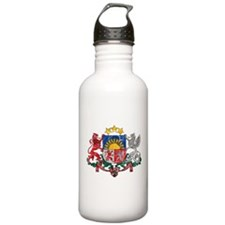 Latvia Coat Of Arms Water Bottle