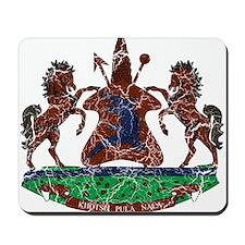 Lesotho Coat Of Arms Mousepad