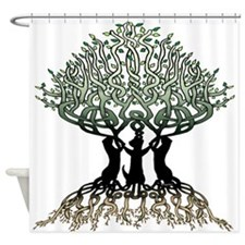 Ferret Tree Shower Curtain