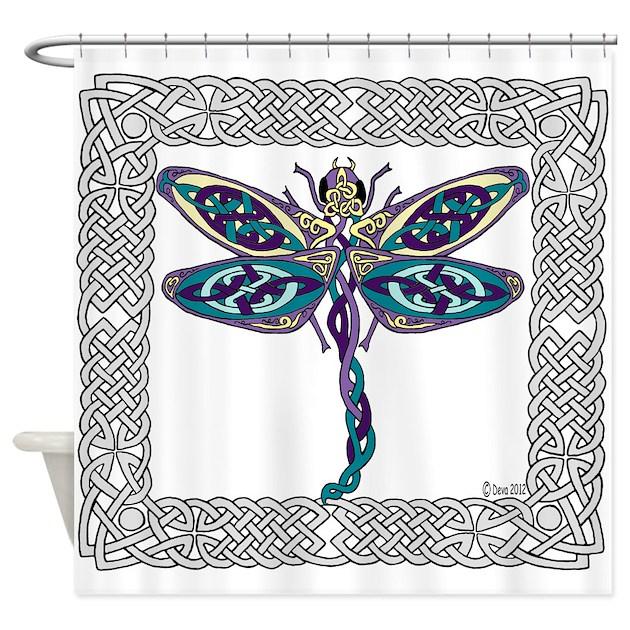 Irish Shower Curtains | Irish Fabric Shower Curtain Liner