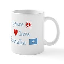 Peace, Love and Somalia Small Mug