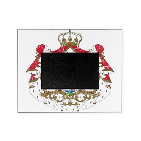 Luxembourg Coat Of Arms Picture Frame