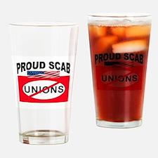 ANTI-UNION Drinking Glass