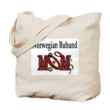 Norwegian Buhund Mom Tote Bag