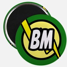 "Green Best Man button 2.25"" Magnet (100 pack)"