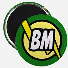 Green Best Man button Magnet