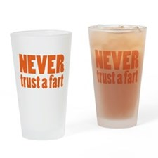 NEVER Trust a Fart Drinking Glass