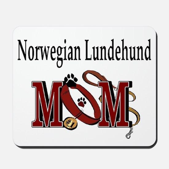 Norwegian Lundehund Mom Mousepad