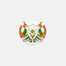 Niger Coat Of Arms Mini Button