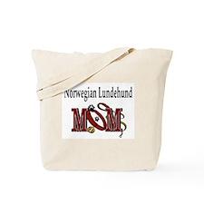 Norwegian Lundehund Mom Tote Bag