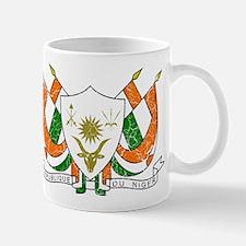 Niger Coat Of Arms Mug