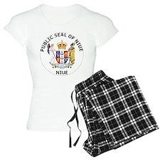 Niue Coat Of Arms pajamas