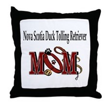 Nova Scotia Duck Tolling Retriever Throw Pillow